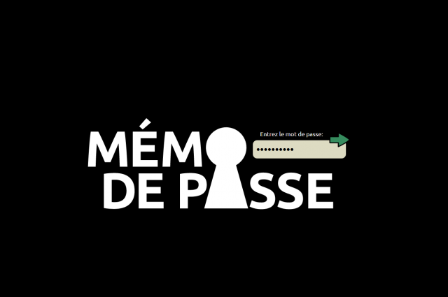 Mémo de passe – Cliquez pour JOUER !